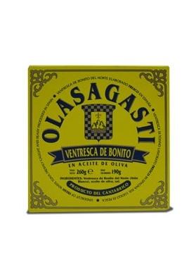 Ventresca de bonito del Norte en aceite de oliva - 200 gr.