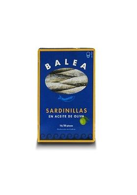 Sardinillas en aceite de oliva - 16/20 unidades