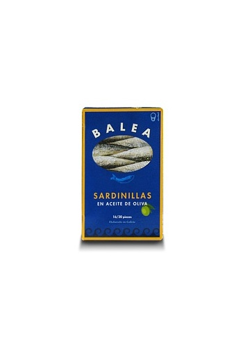 Sardinetes en oli d'oliva 16/20 unitats