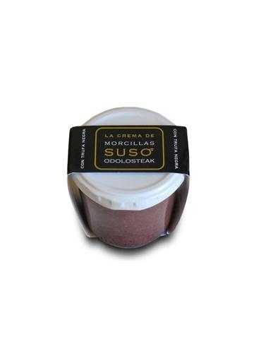 Crema de morcilla con trufa