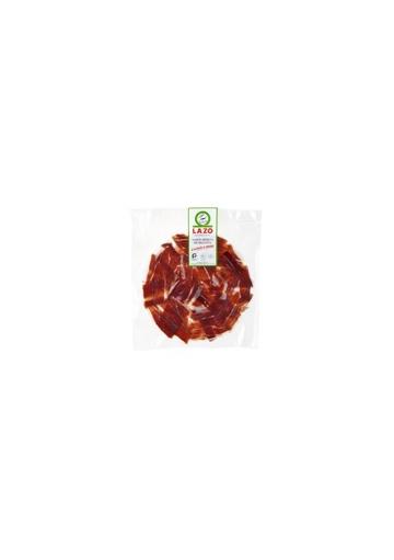 Safata de pernil ibèric de gla Lazo tallat a mà (100gr)