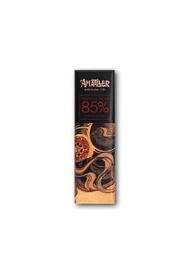 Chocolate negro 85% cacao Ghana 18gr