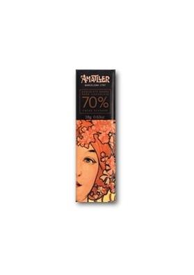 Chocolate negro 70% cacao Ecuador 18gr
