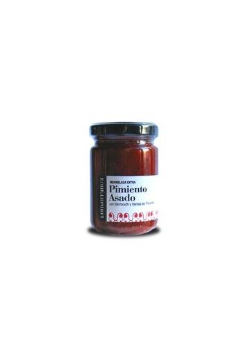 Mermelada de pimiento rojo asado con vermouth