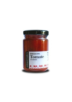 Mermelada de tomate y albahaca