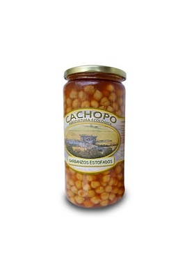 Estofado de garbanzos - 720 gr.